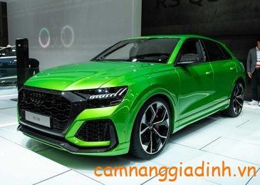 Ngắm xe Audi RS Q8 2020 giá gần 3,3 tỷ VNĐ