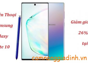 Điện Thoại Samsung Galaxy Note 10 (256GB/8GB) giảm 26%